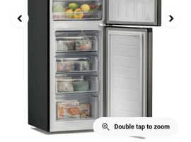 Brand new still boxed 6ft black fridge/freezer