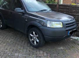 Land Rover Freelander, 2003 (03) Grey Estate, Automatic Diesel, 93,000 miles