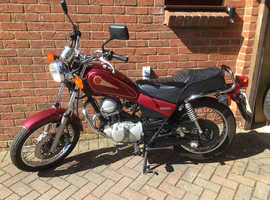 Yamaha SR125 learner legal, good runner, full year mot