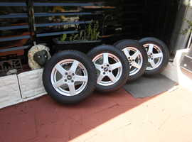 Fiat doblo wheels with tyres