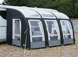 KAMPA RALLY AIR PRO 390 caravan awning