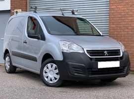 Peugeot Partner 1.6 HDI Blue Professional Van Really Tidy Low Mileage Van in Metallic Silver