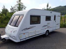 Elddis crusader 2005 4 berth family caravan