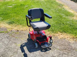 Lightweight Electric Wheelchair, can deliver. New batteries