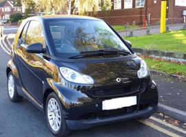 Smart Fortwo Coupe, 2009 (09) Black Coupe, Automatic Petrol, 54,000 miles