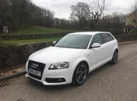 Audi A3, 2012 (Q) white hatchback, Manual Diesel, 34897 miles