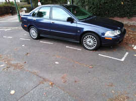 Volvo S/V40 SERIES, 2004 (04) Blue Saloon, Manual Petrol, 140,000 miles