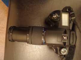 Samsung Digimax GX-10 10.2MP Digital SLR Camera - Black (Kit w/ 18-55mm & 50-200mm Lens)