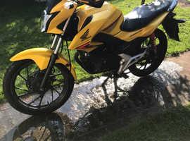 Honda 125cc CB125F (New MOT)