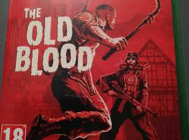 Xbox one Wolfenstein Old Blood