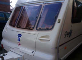 Bailey pageant champagne 4 berth caravan 2002