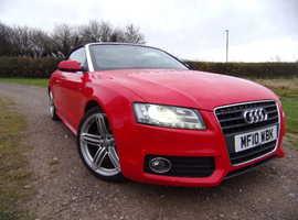 Audi A5 'S' Line Convertible, 2010, Manual Petrol, 43,327 miles