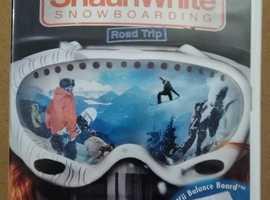 Nintendo Wii Shaun White Snowboarding game