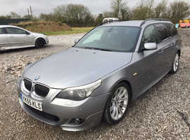 BMW 5 Series, 2006 (55) Grey Estate, Automatic Diesel, 223,000 miles