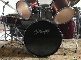 Stagg full size drum kit