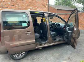 2014 Peugeot Partner Wheelchair Accessible WAV Vehicle, Manual, Diesel, Brown