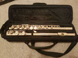 Elkhart Flute with case.