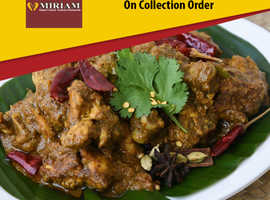 15% Discount On Collection Orders | Miriam Indian Restaurant