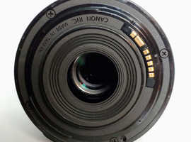 Excellent condition used EF-S 18-55mm f/3.5-5.6 IS STM Lens.