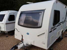 Bailey Orion 2012 2 Berth Caravan + Motor Mover + Alu Tech Bodyshell + 3 Months Warranty Included