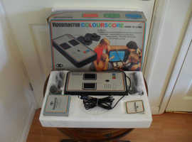 Videomaster classic tennis games console (in box).