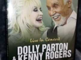 Dolly Parton Kenny Rogers Live In Concert DVD