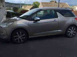 Citroen Ds3, 2010 (60) Beige Hatchback, Manual Diesel, 96,000 miles