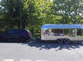 For Sale 6 New & Unused Immediately Available Airstream Style Catering Trailers