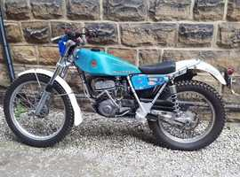 Road registered bultaco trials