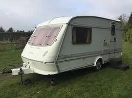 Elddis 1996 Caravan   2 Berth V.G.C For Year, & Full Size Porch Awning.