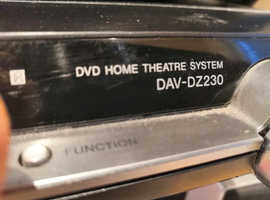 Sony 5.1 surround home cinema  & Samsung blueray
