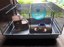 Small furries cage