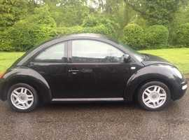 VOLKSWAGEN BEETLE 1.6 LOW MILEAGE STUNNING CLEAN CAR MOT ALLOYS CD AIR CON AND DRIVES VERY WELL