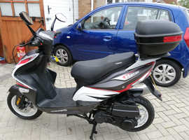 2014 Sinnis harrier 125