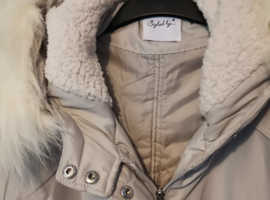 Ladies parka style coat