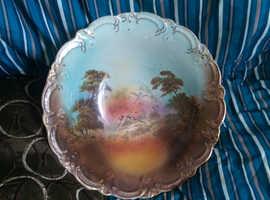 Vintage Bowl J Kent Fenton Original Old Foley Ware