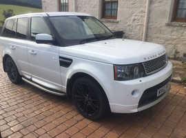 Land Rover Range Rover Sport, 2012 (62) White Estate, Automatic Diesel, 38,000 miles