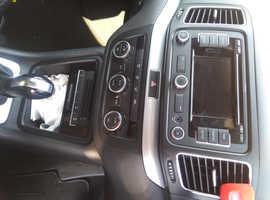 Volkswagen Sharan, 2014 (14) Black MPV, Semi auto Diesel, 164,000 miles
