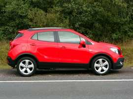 Vauxhall Mokka, 2015 (15) Red Hatchback, Manual Petrol, 29,500 miles, (01443) 831670