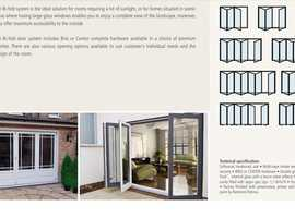 Bi fold doors .Free Quotation .Hardwood Softwood Aluminium