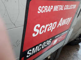 Free collection on all scrap metal