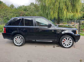 Land Rover Range Rover Sport, 2006 (06) Black Estate, Automatic Diesel, 150,000 miles
