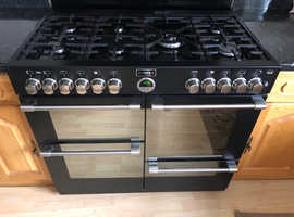 Black Dual Fuel Range Cooker 100cm– Southall UB1