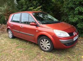 Renault Megane, 2007 (07) Red MPV, Manual Petrol, 55,600 miles