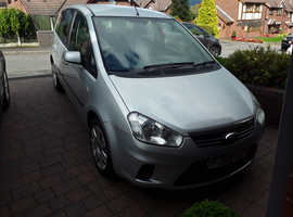 Lovely family car Ford C-MAX  2009 (59) Grey Estate, Manual Petrol, 77,700 miles