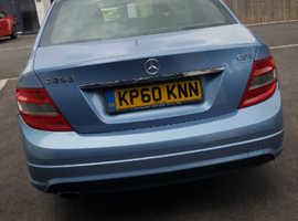 Mercedes C CLASS, 2010 (60) Blue Saloon, Automatic Petrol, 66,580 miles