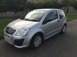 Citroen C2, 2009 (59) Silver Hatchback, Manual Petrol, 73,648 miles