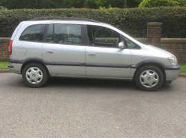 Vauxhall Zafira, 2004 (04) Silver MPV, Manual Diesel, 104,000 miles