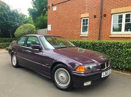 "1993 L REG BMW 3 Series E36 2.5 325i Auto 2dr "" COUPE "" HPI CLEAR """