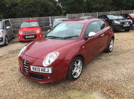 Alfa Romeo Mito, 2013 (13) Red Hatchback, Manual Diesel, 77,000 miles